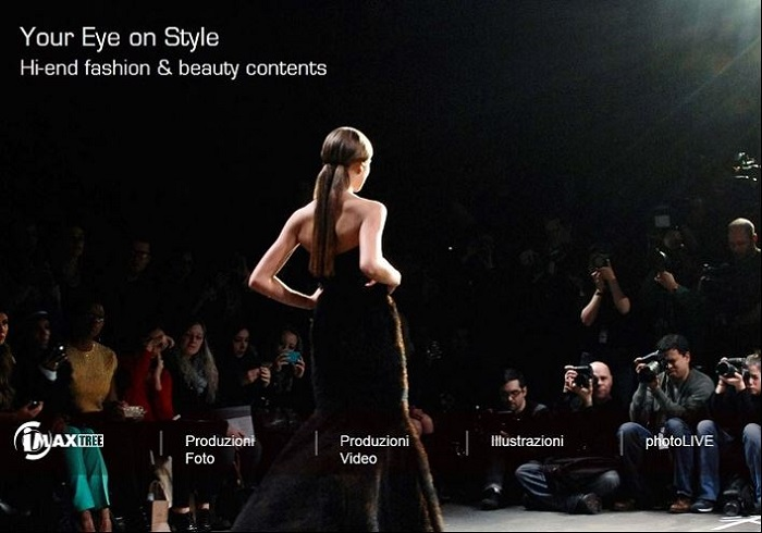 Web portal for the fashion industry