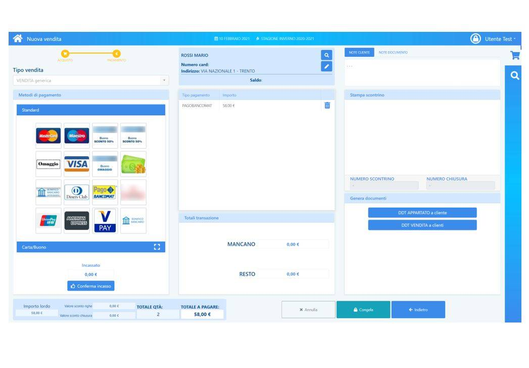 Implementation of the UI of SaiStore (a SOGEA Solution)